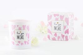 """Bougie parfumée """"Love You More"""" (boucles d'oreilles) - JewelCandle"""