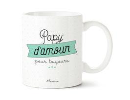 "Mug ""Papy d'amour pour toujours"""