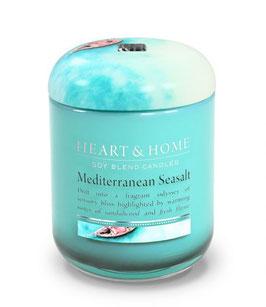 """Bougie parfumée """"Escale En Méditerranée"""" 340g - Heart & Home"""