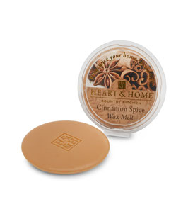 "Galet de cire ""Épices Et Cannelle"" 26g - Heart & Home"