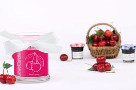 "Bougie parfumée ""Pink Cherry"" (boucles d'oreilles) - JewelCandle"