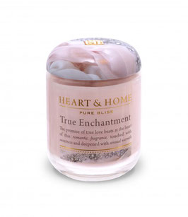"Bougie parfumée ""Pur Enchantement"" 115g - Heart & Home"