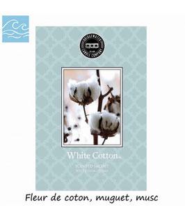 """PRÉCOMMANDE Sachet parfumé """"White Cotton"""" - Bridgewater"""
