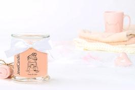 """Bougie parfumée """"Cozy & Lazy"""" (boucles d'oreilles) - Jewelcandle"""