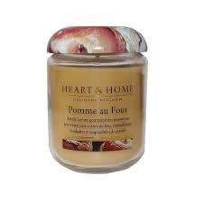 "Bougie parfumée ""Pomme Au Four"" 340g - Heart & Home"