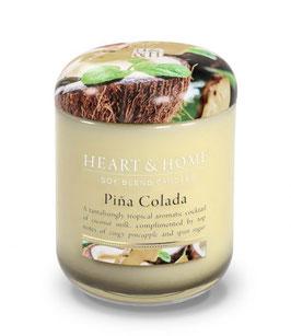 "Bougie parfumée ""Pina Colada"" 340g - Heart & Home"