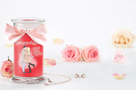 "Bougie parfumée ""Magical Love"" (collier) - JewelCandle"