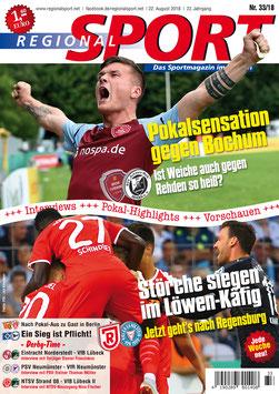 RegionalSport-Ausgabe (33/2018) - 22.08.2018