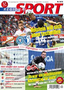 RegionalSport-Ausgabe (34/2018) - 29.08.2018