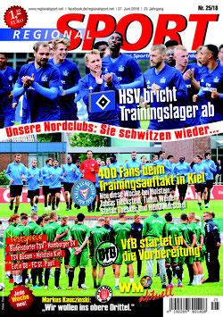 RegionalSport-Ausgabe (25/2018)