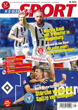 RegionalSport-Ausgabe (31/2018) - 08.08.2018