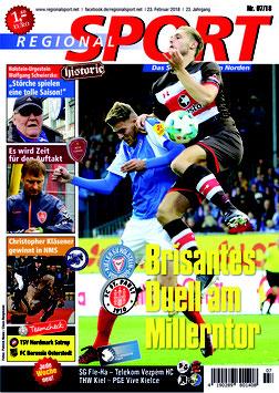 RegionalSport-Ausgabe (07/2018)