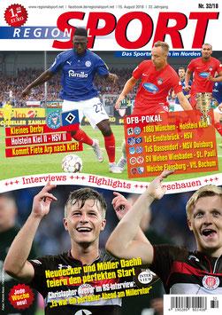 RegionalSport-Ausgabe (32/2018) - 15.08.2018
