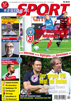RegionalSport-Ausgabe (04/2018)
