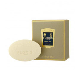 WHITE ROSE Hand Soap Set 3x100g von Floris