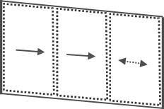 Glas Schiebe Anlage 3-gleisig 10 mm ESG