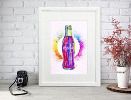 """""""Rainbow Coca Cola"""" by Nasel"""