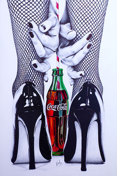 "Lámina ""Coke & Heels"" by Nasel"