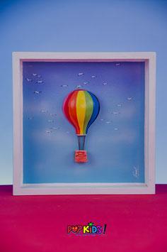Globo aerostático - Pop Hot Air Balloon