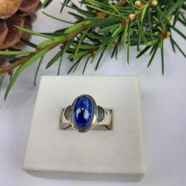 Blauer Disthen Ring Gr. 57, 58 und 59