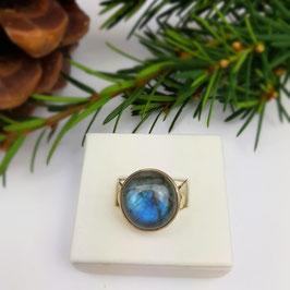 Labradorit Ring Gr. 51