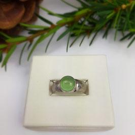 Chrysopras Ring Gr. 56,5