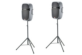 2x JBL Top - Aktivlautsprecher