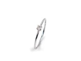 Ring in Weißgold 585/000 mit Brillant
