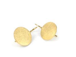 Ohrhänger in Gelbgold 750/000