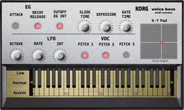 """Korg Volca Bass Midi Remote"" (Vst, AU  and Standalone)"
