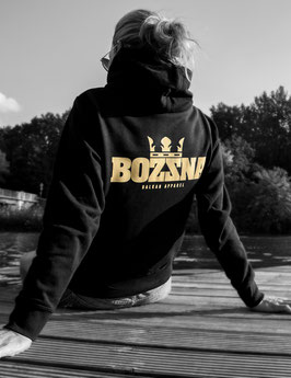 "Balkan Apparel - Bozzna ""Crown"" Hooded Sweat Damen"