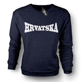 Balkan Apparel - Hrvatska Arch Crewneck Sweater Damen