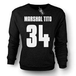 """Balkan Apparel - Marshal Tito """"Number"""" Crewneck Sweater Damen"""