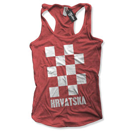 Balkan Apparel - Hrvatska Crosses Damen Tanktop