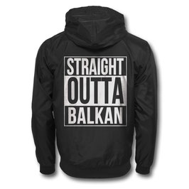 Balkan Apparel - Straight Outta Balkan Windbreaker
