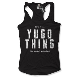Balkan Apparel - Yugo Thing Damen Tanktop