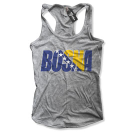 Balkan Apparel - Bosna Flagfont Damen Tanktop