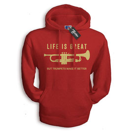 Balkan Apparel - Life is Great Hooded Sweat Herren