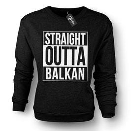 Balkan Apparel - Straight Outta Balkan Crewneck Sweater Damen