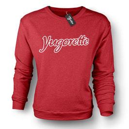 Balkan Apparel - Yugorette  Crewneck Sweater Damen