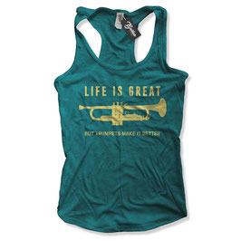 Balkan Apparel - Life is Great Damen Tanktop