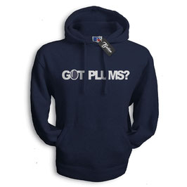 Balkan Apparel - Got Plums? Hooded Sweat Damen