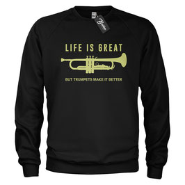 Balkan Apparel - Life is Great Crewneck Sweater