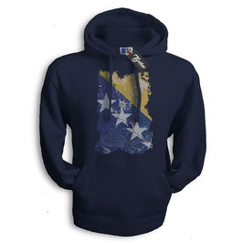Balkan Apparel - Bosna Flag Hooded Sweat Damen