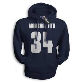 "Balkan Apparel - Marshal Tito ""Number"" Hooded Sweat Damen"