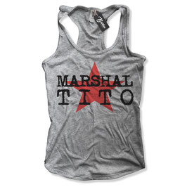 "Balkan Apparel - Marshal Tito ""Star""  Damen Tanktop"
