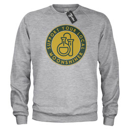 Balkan Apparel - Support your local Moonshiner Crewneck Sweater