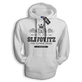 "Balkan Apparel - Slivovitz ""Plum Flavoured Ethanol"" Hooded Sweat Herren"