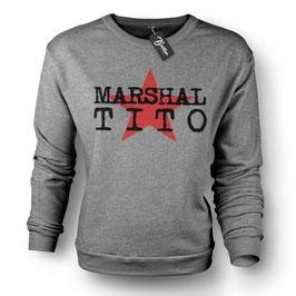 "Balkan Apparel - Marshal Tito ""Star"" Crewneck Sweater Damen"