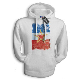 Balkan Apparel - Yugoslavia Flag Hooded Sweat Damen